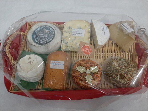 Ferme de Coubertin plateau de fromage