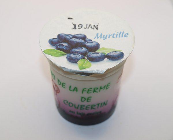 Ferme de Coubertin yaourt